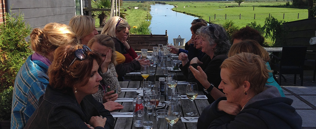 ISISHaarlem Weekend Tour 2015 - Lunch
