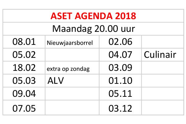 Jaarkalender ASET_2018